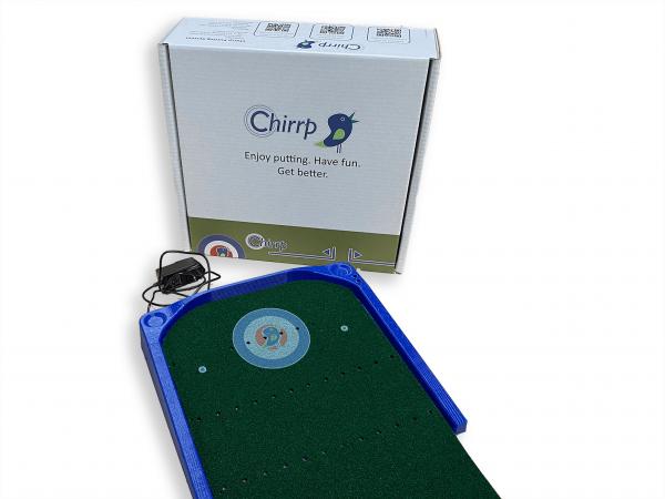 Chirrp Putting System with Storage Box